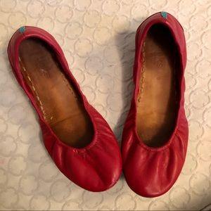 Cardinal Red Tieks - size 9